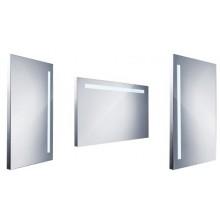 Nábytek zrcadlo Nimco s LED osvětlením 100x60 cm/220-240V hliník