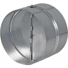HACO ZKK 100 ventilační systém 100mm, zpětná klapka, kov