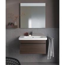 Nábytek zrcadlo Duravit DuraStyle s LED osvětlením 80x80x4 cm 18 W