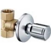 SCHELL podomítkový ventil DN20, chrom
