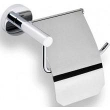 GOZ METAL držák toal. papíru 160x92x102mm, s krytem, mosaz, chrom