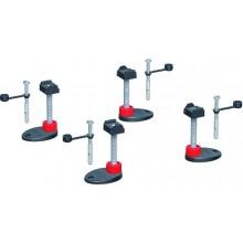 CONCEPT 200 montážní podpěry 92-139mm, se zvukovou izolací