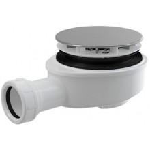 ROLTECHNIK sifon DN90 vaničkový, snížený, chromový plast