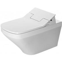 AKČNÍ SET DURAVIT DURASTYLE závěsné WC 376x620mm s hlubokým splachováním Rimless a bidetovacím sedátkem, bílá