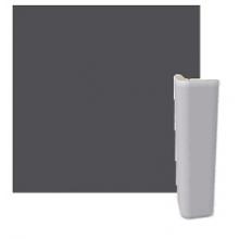 RAKO COLOR TWO vnější hrana 2,4x9,7cm, průběžná, antracitově šedá