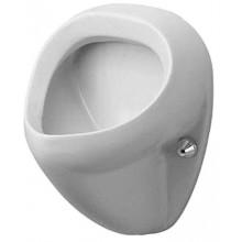 DURAVIT DURAPLUS BILL urinal 345x350mm bez mušky, bílá 0851350000