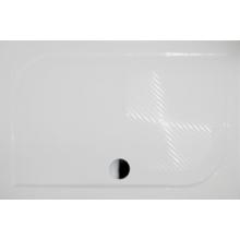 RIHO KOLPING DB36 sprchová vanička 140x90x3cm, obdélník, včetně sifonu a podpěr, litý mramor, bílá