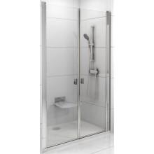 RAVAK CHROME CSDL2 90 sprchové dveře 875-905x1950mm dvoudílné bílá/transparent 0QV7C10LZ1