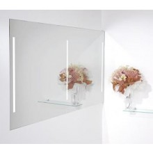 Nábytek zrcadlo Amirro Lumina Duo LED 70140 s LED osvětlením a řetízkovým spínačem 140x70 cm