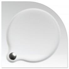 TEIKO VESTA 90 sprchová vanička 90x90x3,5cm, R55cm, čtvrtkruh, akrylát, bílá