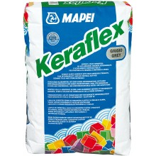 MAPEI KERAFLEX cementové lepidlo 25kg, se sníženým skluzem, šedá