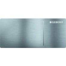 GEBERIT SIGMA 70 oddálené ovládání 11,2x5cm, nerezová ocel kartáčovaná 115.630.FW.1