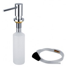 NIMCO dávkovač na tekuté mýdlo vestavěný 55x120x395mm chrom UN 6031V-26
