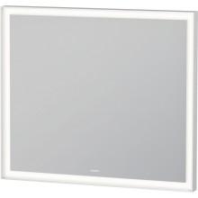 DURAVIT L-CUBE zrcadlo 800x700mm s osvětlením, senzorový spínač, stmívací funkce