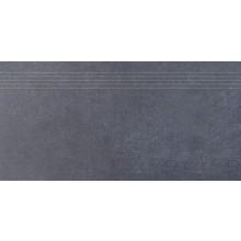 RAKO SANDSTONE PLUS schodovka 30x60cm, černá