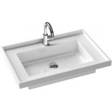 RAVAK BATH GALLERY umyvadlo nábytkové 720x500x156mm, s otvorem, bílá