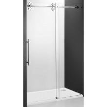 ROLTECHNIK KINEDOOR LINE KID2/1800 sprchové dveře 1800x2000mm posuvné pro instalaci do niky, bezrámové, brillant/transparent