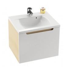 RAVAK SD CLASSIC 700 skříňka pod umyvadlo 700x490x470mm bříza/bílá X000000303