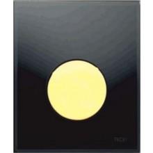 TECE LOOP ovládací tlačítko 104x124mm, na pisoár, včetně kartuše, černá/zlatá