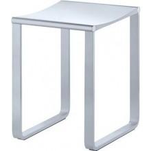 KEUCO PLAN koupelnová stolička 340x365mm, chrom/světle šedá