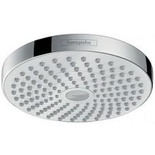 HANSGROHE CROMA SELECT S180 2JET ECOSMART hlavová sprcha 187mm, bílá/chrom