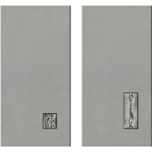 IMOLA YORK dekor 20x40cm grey, IRON 24G MIX