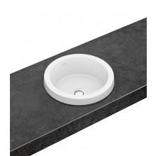 VILLEROY & BOCH ARCHITECTURA umyvadlo ø 415mm zápustné, bez přepadu Bílá Alpin CeramicPlus 416541R1