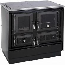 KVS MORAVIA KLAUDIE VSP-9112.2582 sporák na pevná paliva s troubou 7-8,5kW pravý černý/chrom