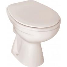 WC mísa Ideal Standard odpad vodorovný Eurovit V ploché splachování ploché splachování bílá