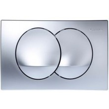 GEBERIT DELTA 20 ovládací tlačítko 24,6x16,4cm, chrom mat 115.100.46.1