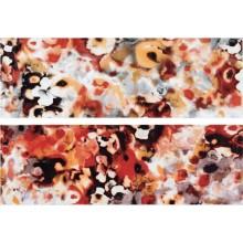RAKO AIR dekor 20x60cm červeno-oranžová WITVE004