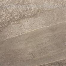 RAKO RANDOM schodovka 60x60cm, hnědá