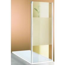 HÜPPE 501 DESIGN PURE SW 900 sprchová zástěna 885x900x1900mm stříbrná matná/sklo čiré 510622.087.321