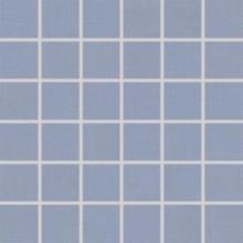 RAKO TENDENCE mozaika 30x30cm, lepená na síťce, modrá