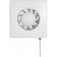 HACO AV BASIC 100 P axiální ventilátor prům. 100mm, stěnový, se šňůrkovým vypínačem, bílý