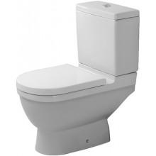 WC kombinované Duravit odpad svislý Starck 3 s hlub. splach. odpad uvnitř WG 36x65,5 cm bílá+wondergliss