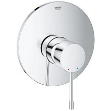 GROHE ESSENCE NEW sprchová baterie Ø163mm, podomítková páková, chrom