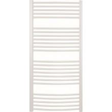 CONCEPT 100 KTOE radiátor koupelnový 500W elektrický prohnutý, bílá KTO13400750-10E