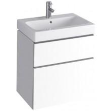 KERAMAG ICON skříňka pod umyvadlo 59,5x62x47,7cm závěsná bílá lesklá (Alpin) 840360000
