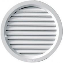 DEN BRAVEN větrací mřížka Ø110mm, kruhová, se síťovinou, uzavíratelná, bílá