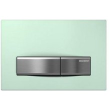 GEBERIT SIGMA 50 ovládací tlačítko 24,6x1,3x16,4cm, sklo zelené satinované