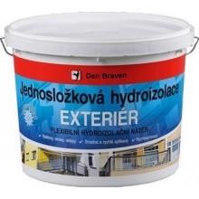 DEN BRAVEN EXTERIER jednosložková hydroizolace 5kg, elastická, modrá