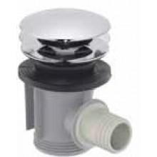 Příslušenství k vanám Hansgrohe - odtokový ventil Push-Open  chrom