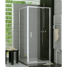 Zástěna sprchová boční Ronal TOP - Line TOPF 1200 01 07 1200x1900 mm matný elox/čiré AQ