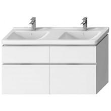 JIKA CUBITO-N skříňka pod umyvadlo 1280x467x683mm, 4 zásuvky, bílá