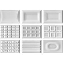 IMOLA CENTO PER CENTO dekor 12x18cm white, CACAO W