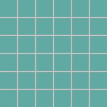 RAKO COLOR TWO mozaika 30x30cm, lepená na síťce, tyrkysová