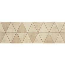 RAKO TRIANGLE dekor 20x60cm, bílošedá