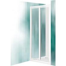 ROLTECHNIK CLASSIC LINE CDO2/850 sprchové dveře 850x1836mm dvoukřídlé, bílá/bark