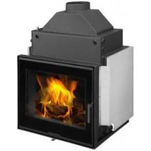 ROMOTOP KV 6.6.2 TV krbová vložka 4-18kW s teplovodním výměníkem, černá